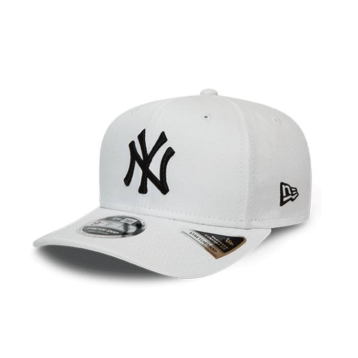 New Era League Essential 950 SS New York Yankees, White/Black  - Size: Small