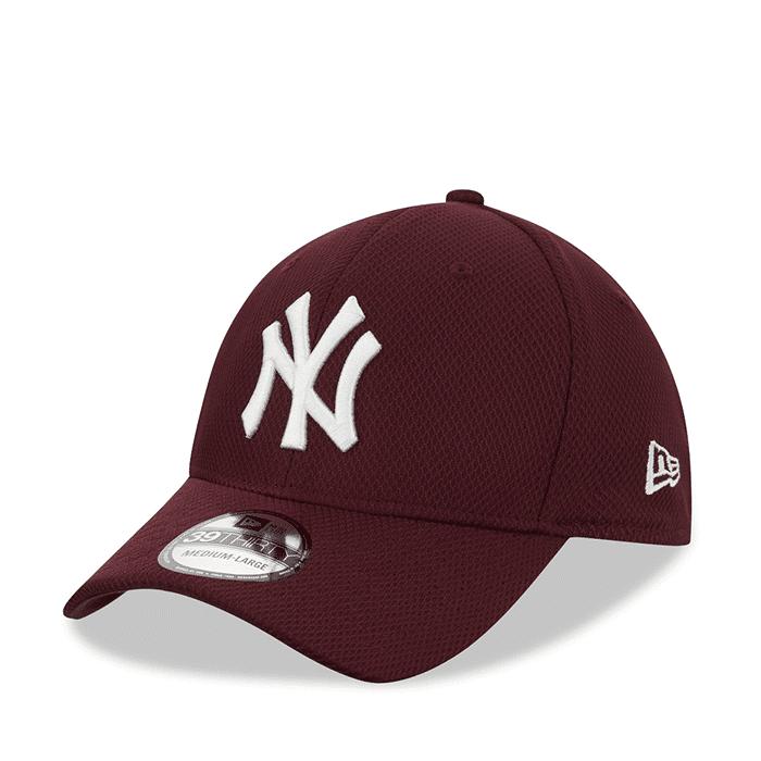 New Era Diamond Era 3930 New York Yankees, Maroon/White  - Size: Small