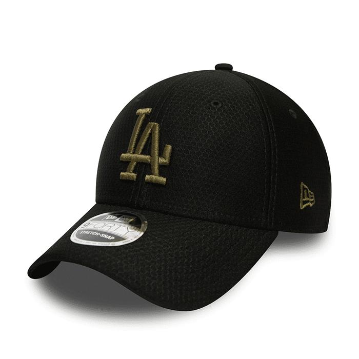 New Era Tonal 9FORTY Snapback Los Angeles Dodgers, Black  - Size: One Size