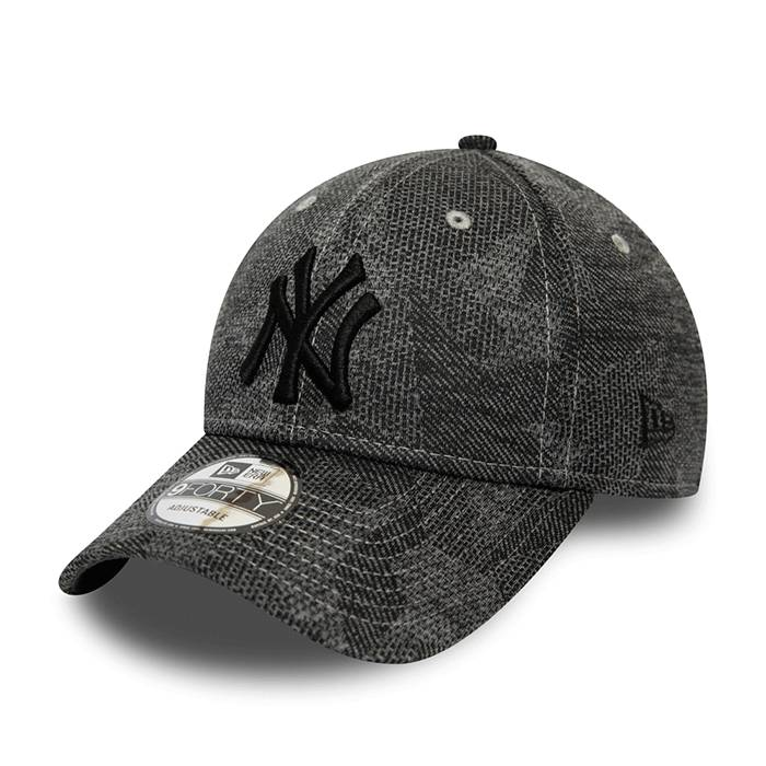 New Era Engineered Fit 9FORTY New York Yankees, Graphite  - Size: One Size