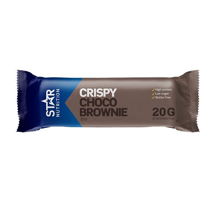 Star Nutrition Protein Bar, 55g, Choco Brownie, Lyhyt Päivämäärä  - Size: One Size