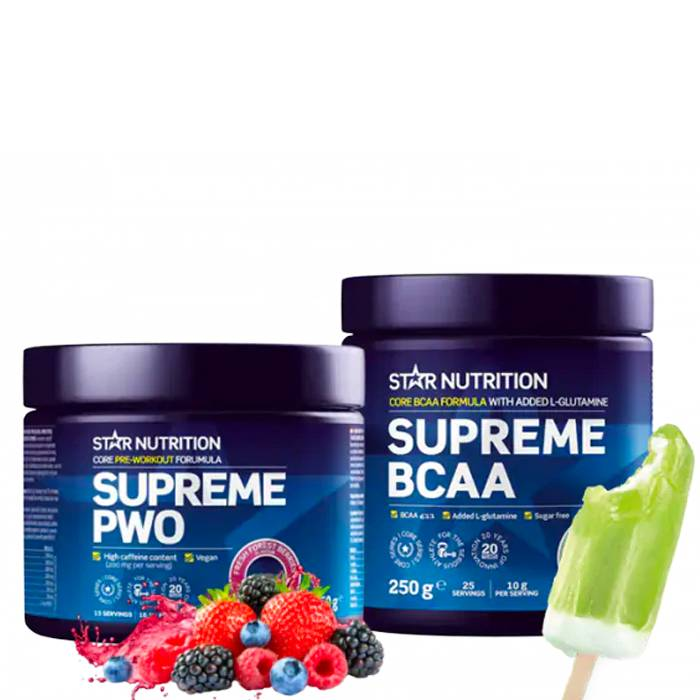 Star Nutrition Pre and intra-workout Pack