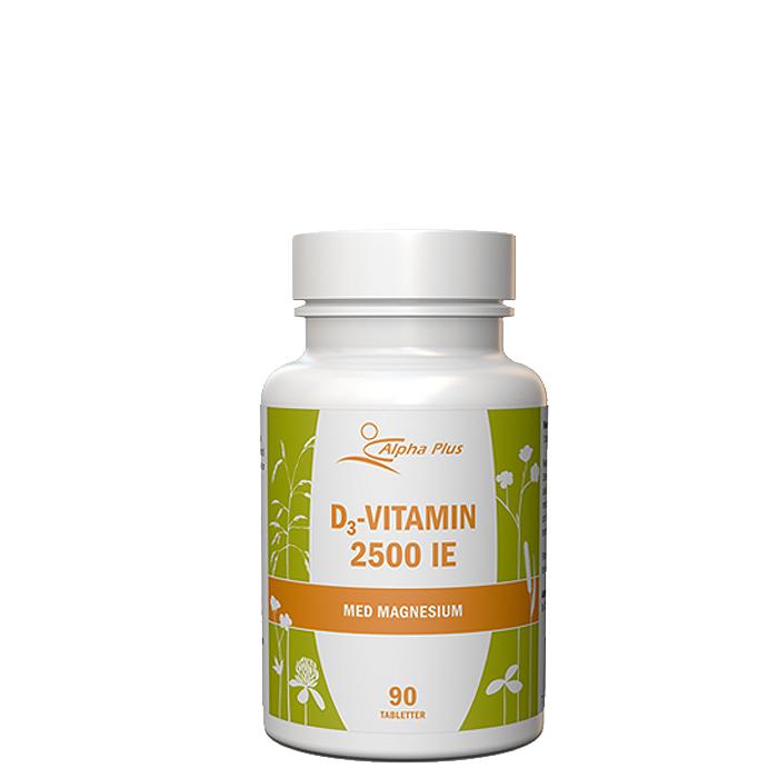 Alpha Plus D3-vitamiini MerVital 2500IE, 90 tablettia  - Size: One Size