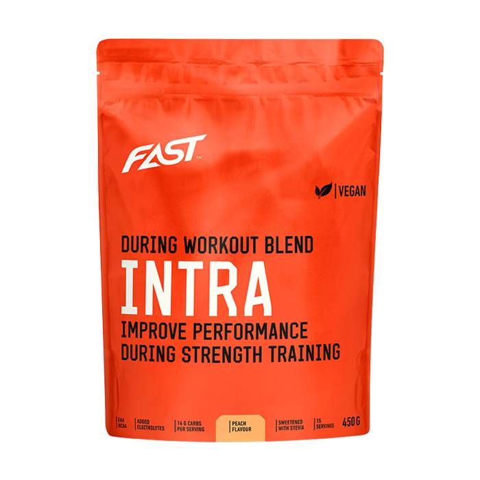 FAST Sports Nutrition Intra, 450 g, Peach  - Size: One Size