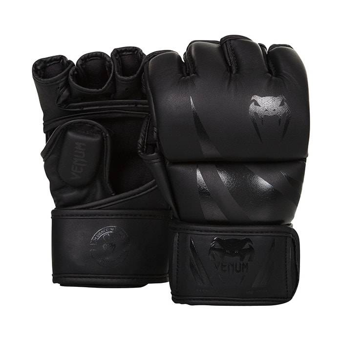Venum Challenger Mma Gloves, Black/Black  - Size: Small