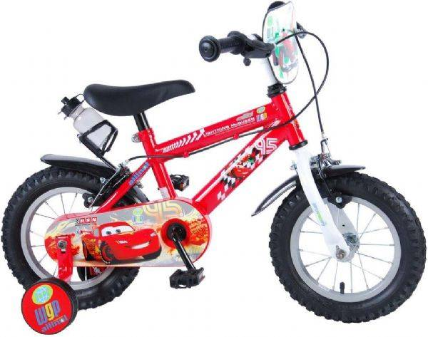 Cars Disney Cars Childbike 14 tuuma - (Disney Cars Lasten polkupyörä