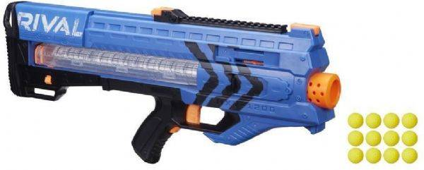 Nerf Rival Zeus MXV-1200 Sininen - Nerf Rival Kivääri Team Blue B1593