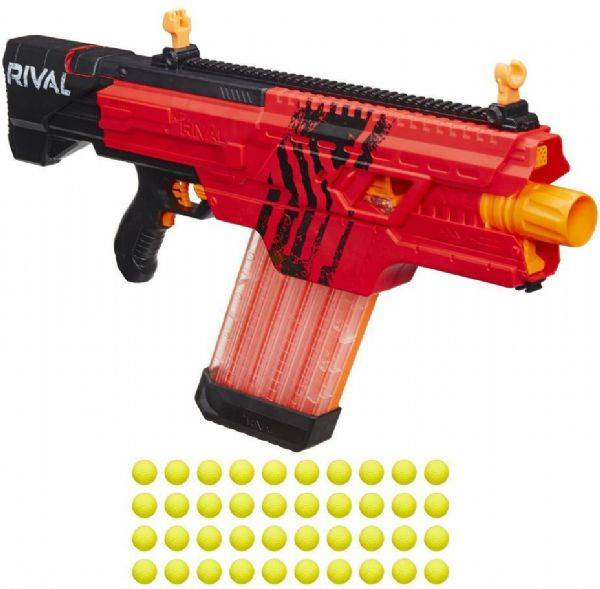 Nerf Rival Khaos MXVI 4000 punainen - Nerf ase B3859