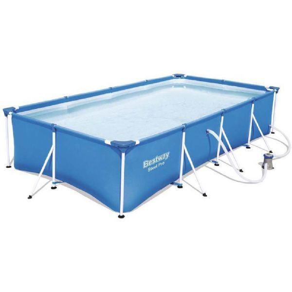 Bestway Steel Pro uima-allas 5.700L 400x211x81 cm - Bestway uima-allas 56424