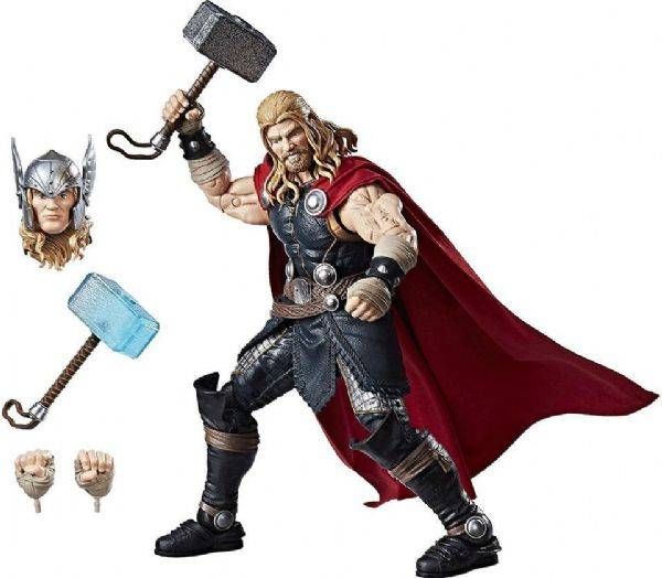 Avengers Thor Deluxe hahmo 30cm ja lisävarusteet - Marvel Legends hahmo C1879