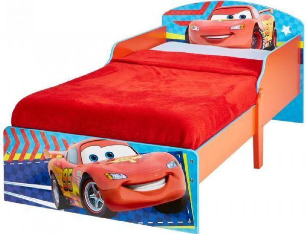Worlds Apart Cars Juniorisänky ilman patjaa - Disney Autot lastensänky 651667