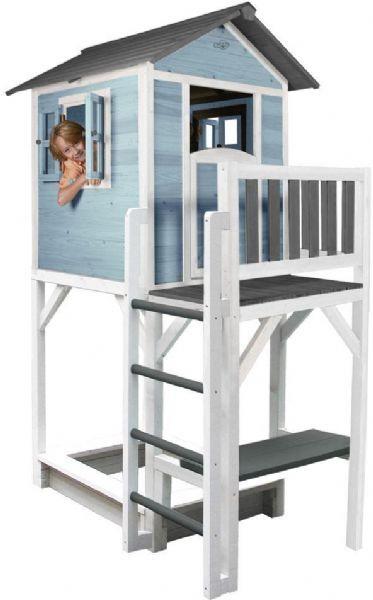 Sunny Lodge XXL leikkimökki sininen - Sunny Play-talo ja torni 93187
