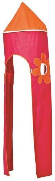 Hoppekids Flower Power sängyn torni - Hoppekids tekstiilit 4308PI