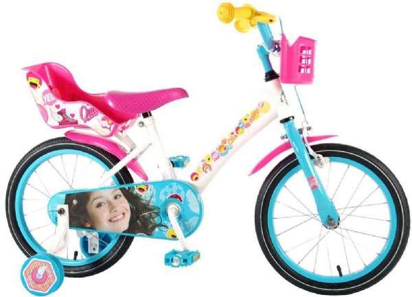 Soy Luna Childbike 16 tuumaa - Soy Luna lasten pyörä 716058