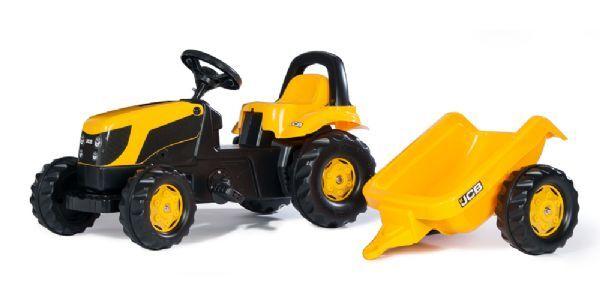 Rolly JCB traktori ja perävaunu - Rolly Toys 12619
