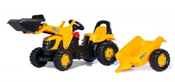 Rolly JCB traktori etukuormaajalla - Rolly Toys 23837