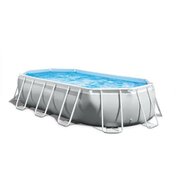 Intex Pool Prism Frame soikea 13.365 - Intex uima-altaat ja uimalaitt