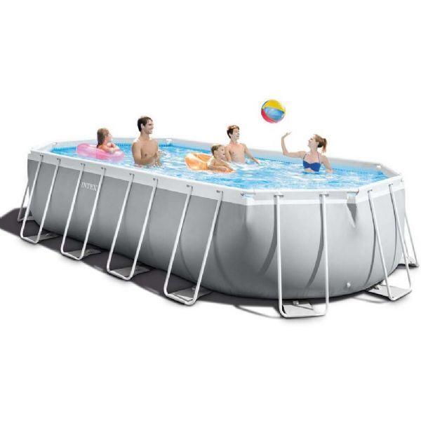 Intex Pool Prism Frame soikea 18.202 - Intex uima-altaat ja uimalaitt