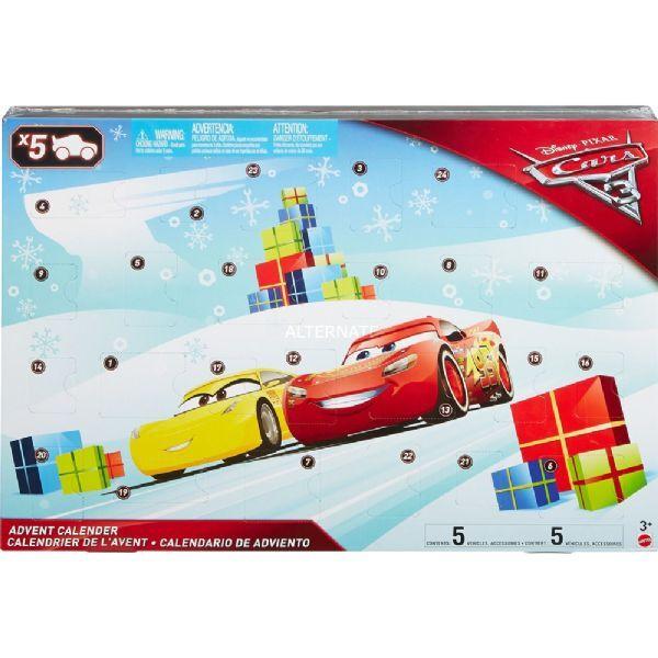 Cars Autot 3 joulukalenteri 2017 - Disney Cars 3 joulukalenteri FGV14