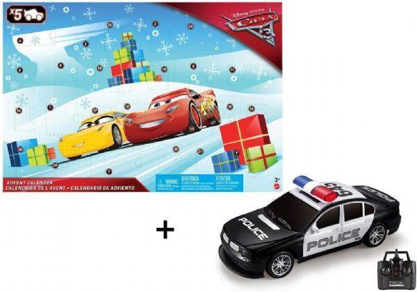 Cars 3 joulukalenterin kauko-o - Disney Cars 3 2017 -pakettikal