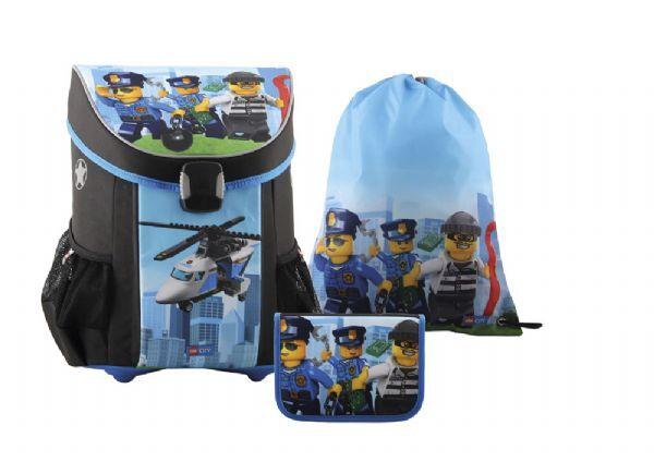 Lego City koululaukkasetti 3 o - LEGO Laukut koululaukku 151835