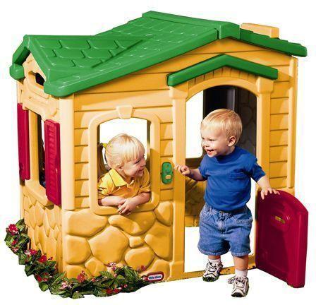 Little Tikes Leikkimökki maagisella ovikellolla - Little Tikes Leikkimökki 4255