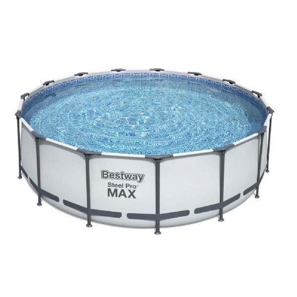 Bestway Steel Pro MAX uima-allas 16.015L 457x122 cm - Bestway uima-allas 56438