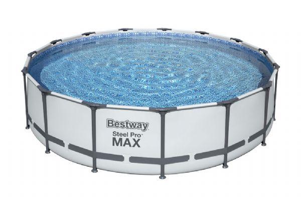 Bestway Steel Pro MAX uima-allas 14.970L 457x107 cm - Bestway uima-allas 56488