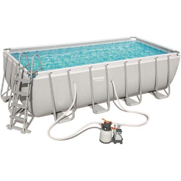 Bestway Power Steel Pool 11.532L 488x2 - Bestway Uima-allas 56671