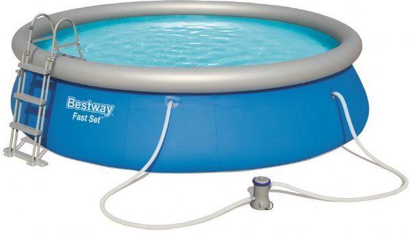 Bestway Fast Set Pool 12.362L 457x107c - Bestway Uima-allas 57294