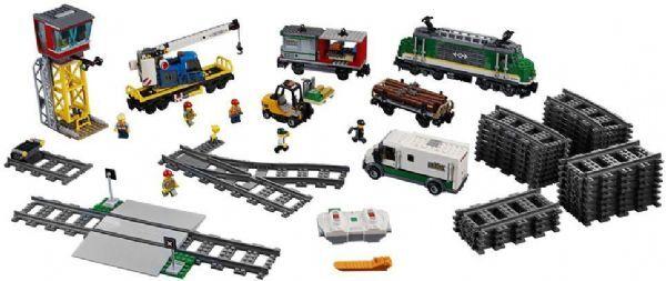 Lego Tavarajuna - Lego City Trains 60198