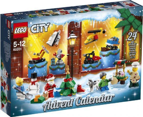 Lego City joulukalenteri 2018 - Lego joulukalenteri 60201