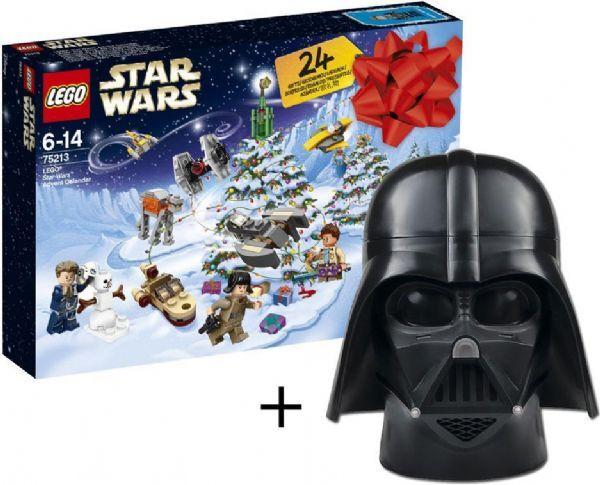 Lego Star Wars Joulukalenteri + säilytyslaatikko - Lego Star Wars Joulukalenteri 75213X
