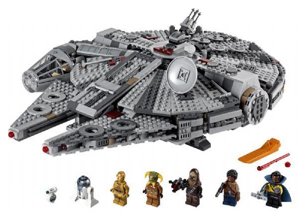 Lego Millennium Falcon - Lego Star Wars 75257
