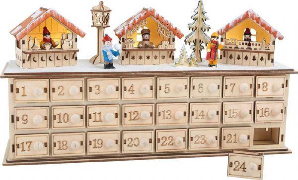 Image of Sekalaiset Adventtikalenteri Joulumarkkinat - Joulukalenteri puu 1290