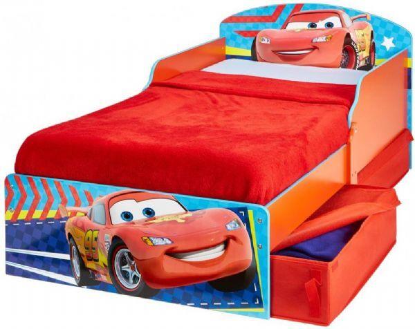 Worlds Apart Cars Juniorisänky ilman patjaa - Disney Autot lastensänky 659076