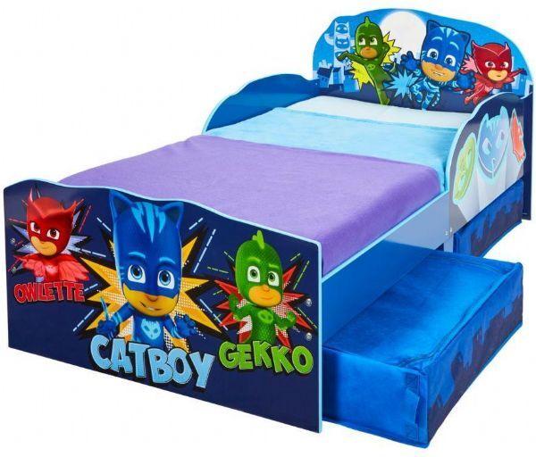 Worlds Apart PJ Masks junior sänky patjalla - Pyjamasankarit lastenkalusteet 666715
