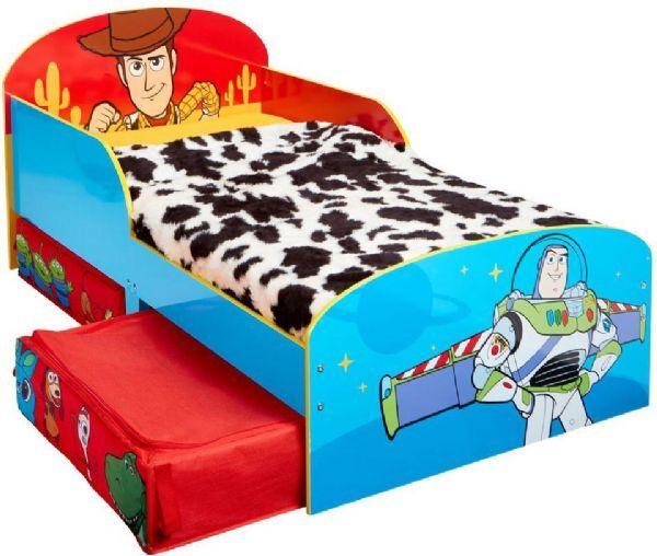 Worlds Apart Toy Story Junior -patjallinen  - Lelujen tarina lasten sänky 67