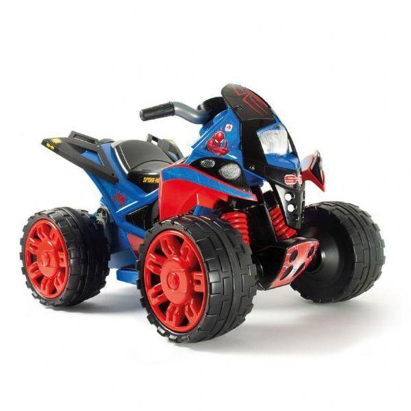 Injusa Spiderman ATV Quad 12v - Sähköauto lapsille spiderman 1