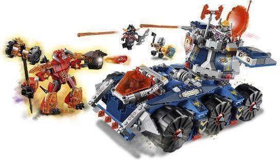 Lego Axlin Tornitankki - Lego 70322 Nexo Knights