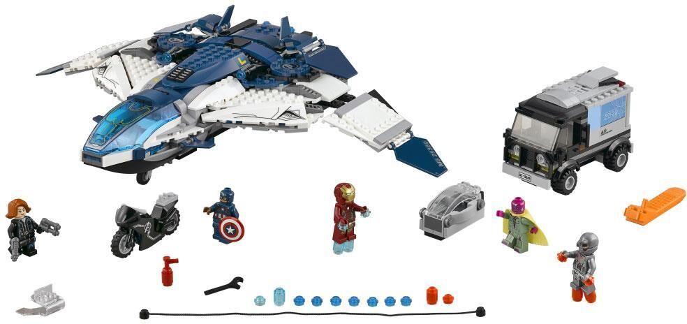 Lego Kostajien kaupunkitakaa-ajo Quinjetillä / Avengers #4 - Lego 76032 Super Heroes