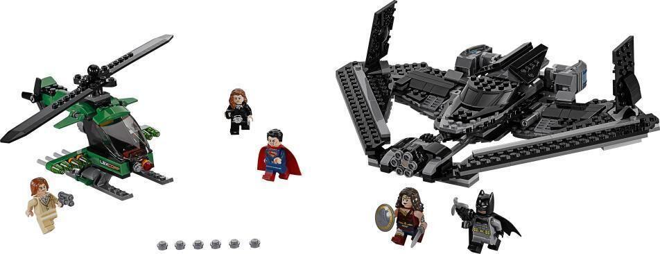 Lego Oikeuden sankarit: Taistelu taivaalla - Lego 76046 Super Heroes