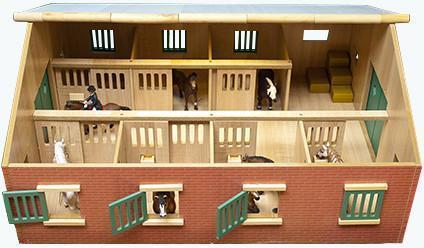 Sekalaiset Kids Globe hevostalli 7 karsinaa - Maatila ja eläimet 610595
