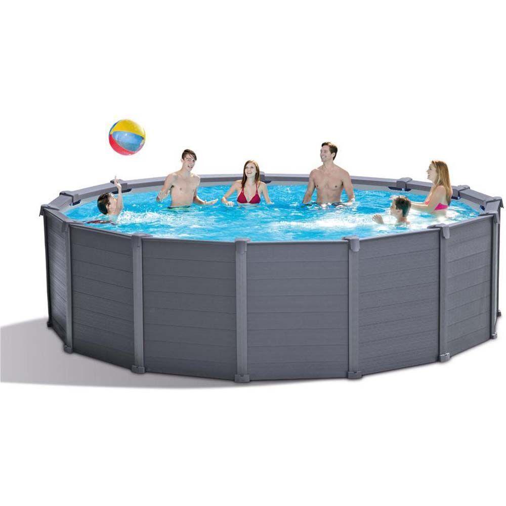 Intex Pooli Grafiitin harmaa paneeli - Intex uima-altaat ja uimalaitt