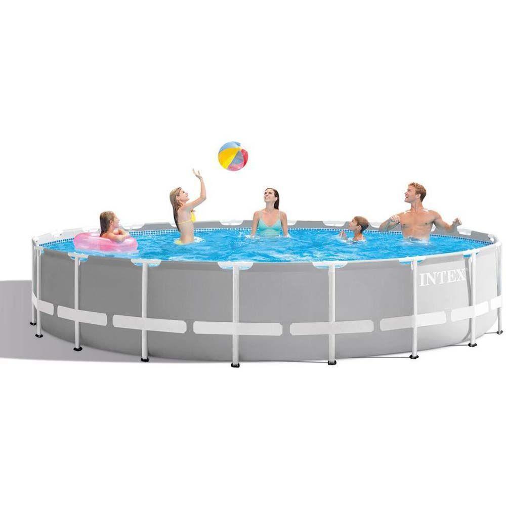 Intex Pool Prism Frame 32.695L 610x1 - Intex uima-altaat ja uimavälin