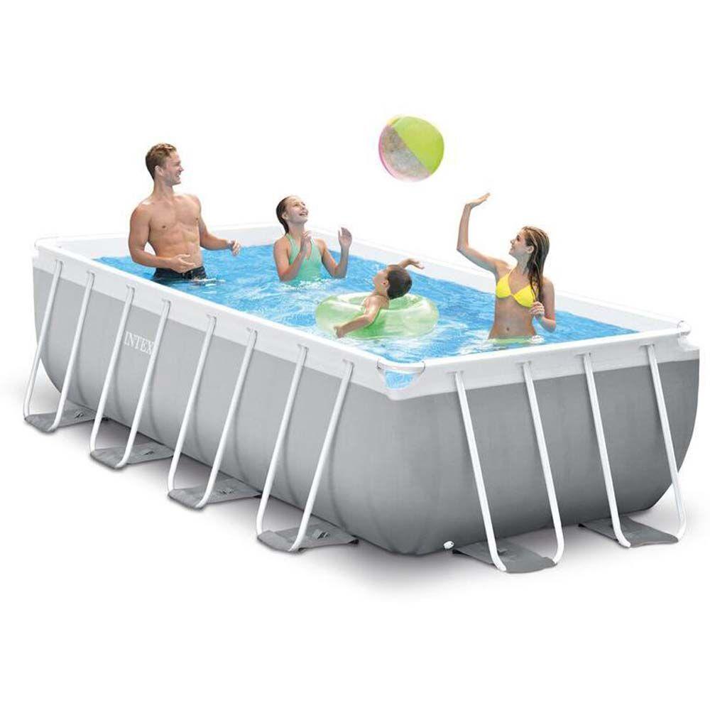 Intex Pool Prism Frame 6836L 400x200 - Intex uima-altaat ja uimalaitt