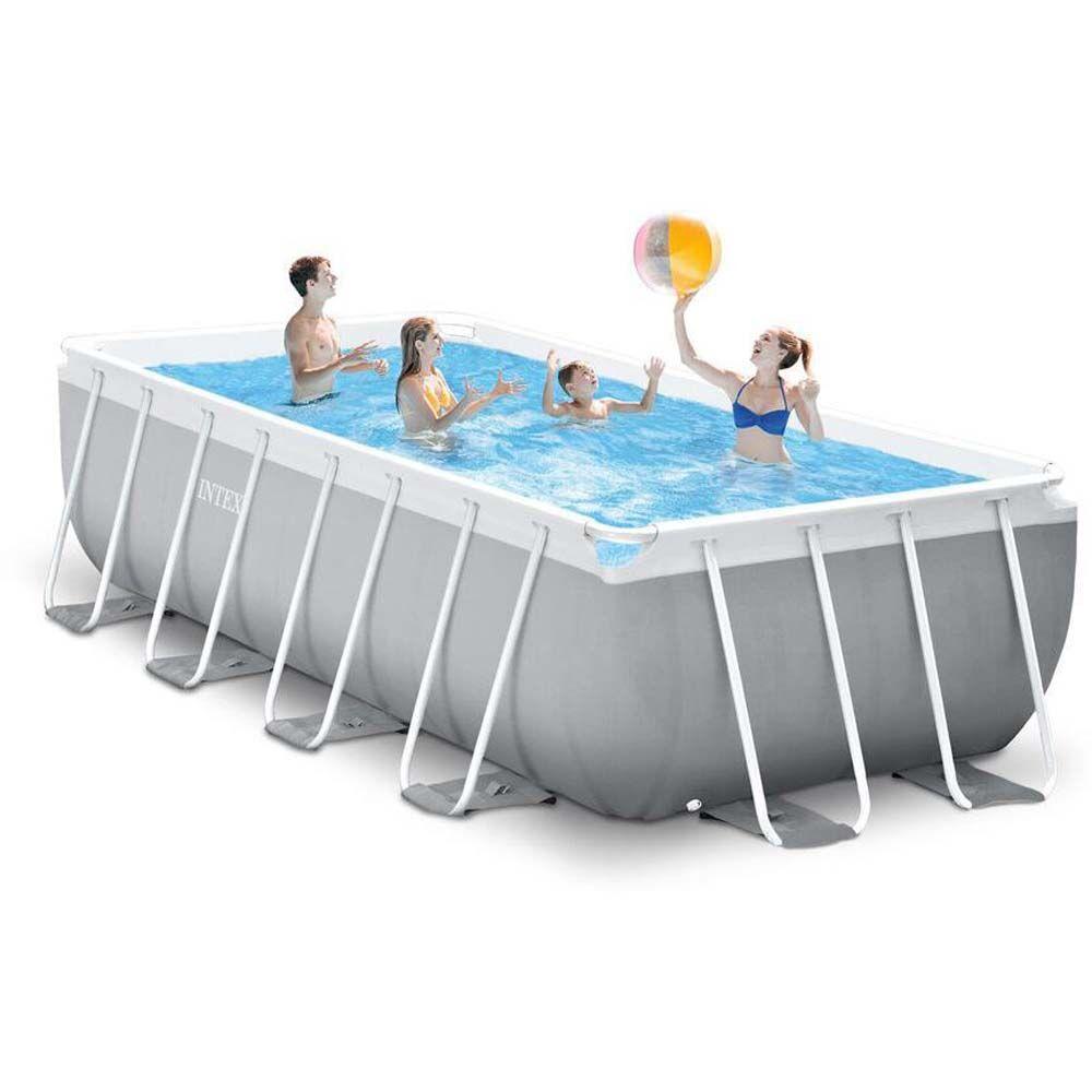Intex Pool Prism Frame 10.874L 488x2 - Intex uima-altaat ja uimavälin