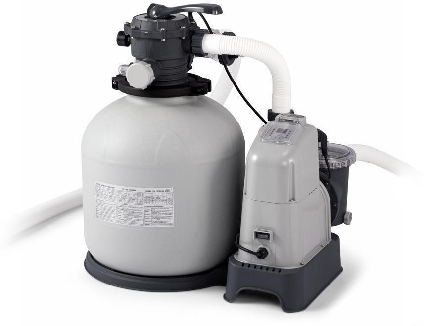 Intex Hiekkasuodatinpumppu ja suolavesiallasjärjestëlmä, 56 800 litraa - Intex pumput 28680