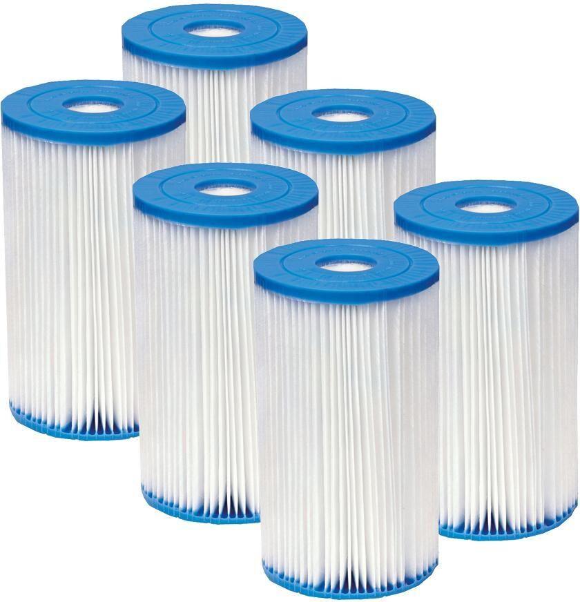 Intex 6 x Suodatinta Intex Type B - Intex pumpun filtteri 29005