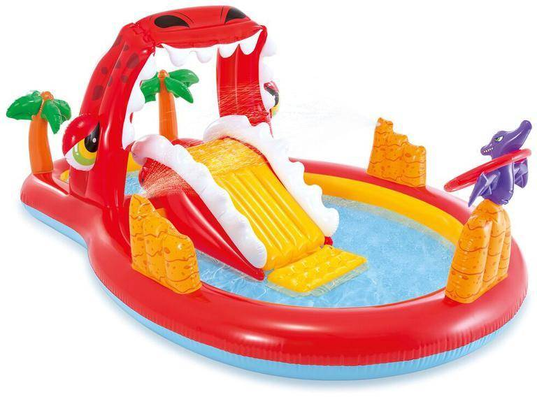 Intex Happy Dino Play Center -allas  - Intex uima-altaat ja uimavälin